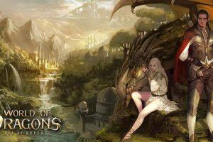 клиентская игра World of Dragons