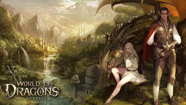 игра с клиентом World of Dragons